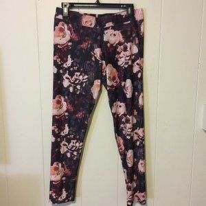 American Eagle Floral Printed Workout Leggings